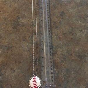Jewelry - Handmade Baseball/Softball Bottle Cap necklace